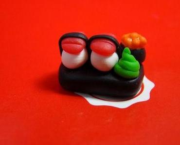 [66] DIY Charm: Mini Sushi Platte