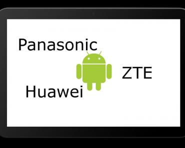 Panasonic, Huawei, ZTE – Angriff der Underdogs