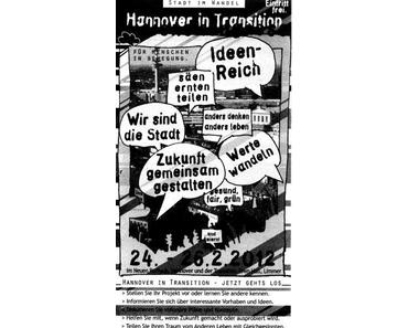 Transition Town Hannover, Stadt im Wandel - Visionskongress Anfang 2012: ein langer Workshop am Wochenende
