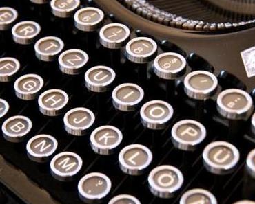 """Unsere neue """"alte"""" Schreibmaschine"""