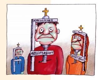 Gegen religiöse Diskriminierung am Arbeitsplatz