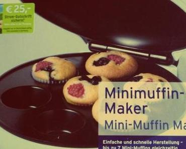 Tchibo-Backvergnügen: Der Mini-Muffin-Maker