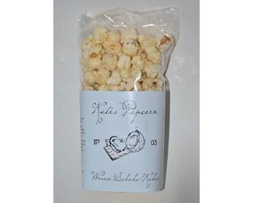Kates Popcorn Weisse Schoko-Kokos und Mr Stanleys Peanut Brittle