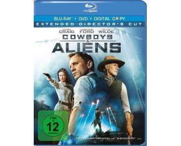 Cowboys & Aliens Bluray