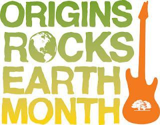 Origins Rocks Earth Month im April 2012