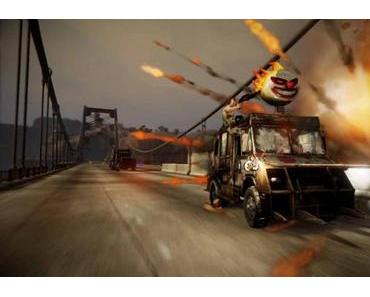 Twisted Metal-Das Verrückte Auto-Kampf Spiel