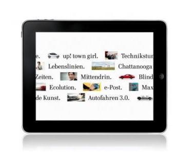 Volkswagen Geschäftsbericht 2011 auch als iPad-App