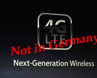 Deutsche Telekom bestätigt: 4G/LTE-Chip im iPad 3, in Deutschland nicht nutzbar.