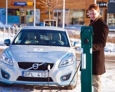 Volvo beteiligt sich an der Entwicklung von Ladesystemen für Elektroautos