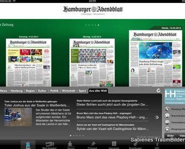 Das Hamburger Abendblatt als App