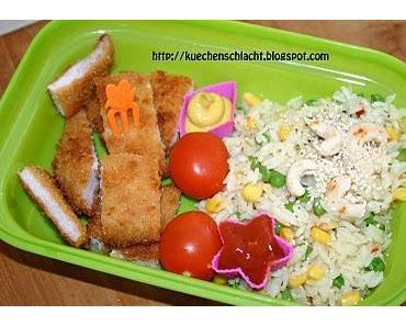 Bento Nr.3 - Schnell mit Reis und Schnitzel