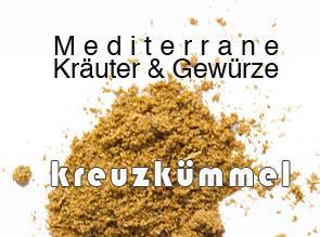 Kreuzkümmel (Cuminum cyminum L.)