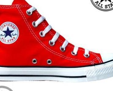#Converse #Schuhe Chuck Taylor All Star Chucks #M9621 Rot HI Vintage