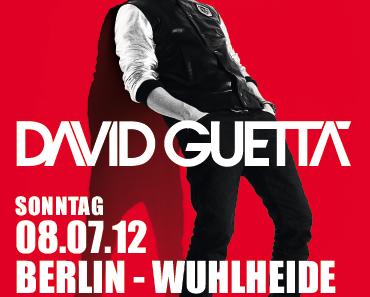 David Guetta exclusive Tickets für Berlin am 8.Juli