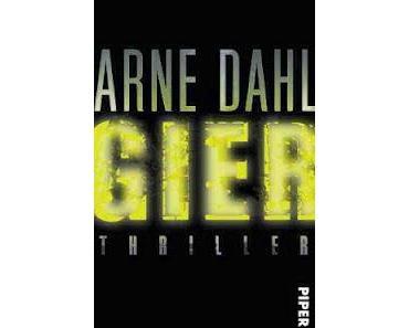 Gelesen: Gier von Arne Dahl