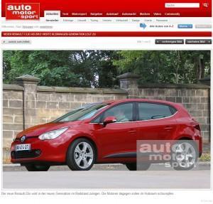 Renault Clio 2012: Neue Generation kommt nach Paris