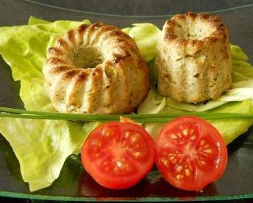 Brokkoli-Gorgonzola-Flan