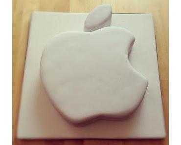 Torte für einen Apple Fan :-)