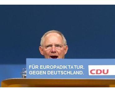 """Schäuble: """"Privatisierung der Wälder wird uns retten"""""""