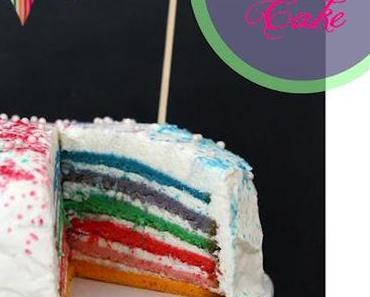 Rainbow Cake zu Ostern