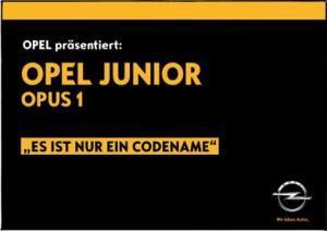 Opel Junior? Konkurrenz für den VW up! & Co.