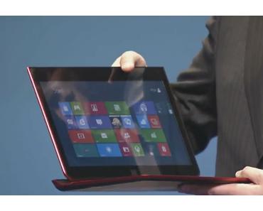 Intel stellt Tablet-Ultrabook Hybriden Letexo vor. (Video)