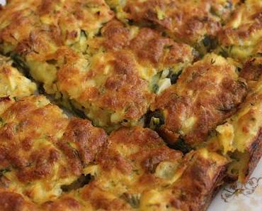 Zucchinikuchen (Kabakli Börek)