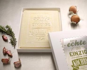 Lesen, kochen und essen: Das erste essbare Kochbuch!