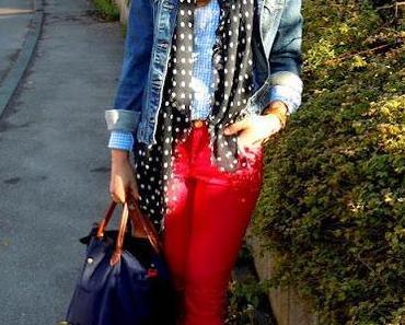 Outfit: Pinke-Power-Hose