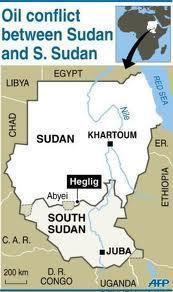 Krieg zwischen den beiden Sudan