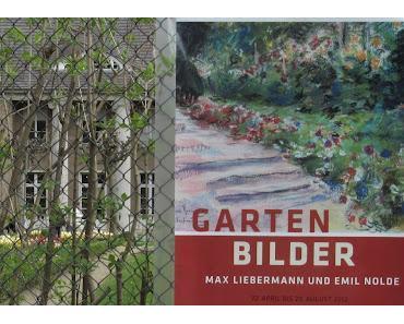 Gartenbilder von Emil Nolde und Max Liebermann in der Liebermann-Villa am Wannsee