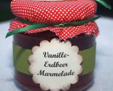 Erdbeer Marmelade...