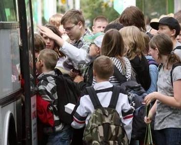 Kein Schülerbusverkehr in vielen Städten