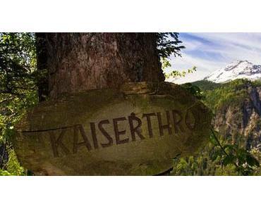 Kaiserthron – Ausblick auf Ötscher und Ötschergräben