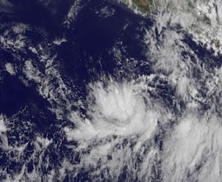 System 92-E vor Mexiko wird voraussichtlich bald zum Tropischen Sturm BUD