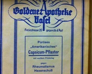 Vintage: Capsicum Pflaster