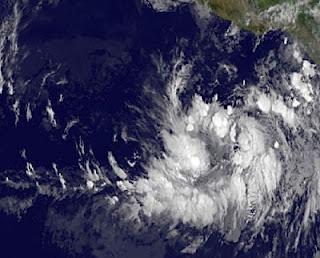 Tropisches Tief 2-E im Pazifik erreicht Mexiko voraussichtlich als Hurrikan BUD