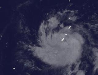 Tropischer Sturm 3-W bei Guam wird wahrscheinlich zu Taifun SANVU