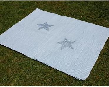 Picknickdecke selbst gemacht - picnic rug DIY