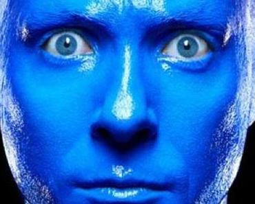 Die Blue Man Group im Stage Bluemax Theater in Berlin