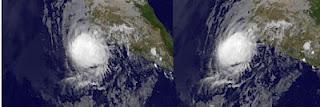 Hurrikan BUD beginnt abzubauen - Landfall heute Nacht erwartet