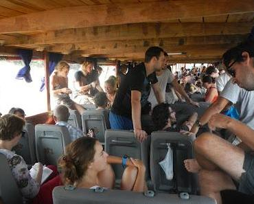 mit dem Slowboat nach Luang Prabang