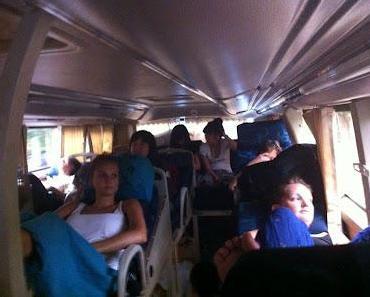 Nach 5571km im Bus von Bangkok: letzte Station Hanoi
