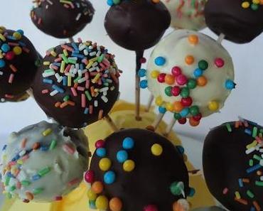 backen mit Kindern VIII 3 x Cake Pops