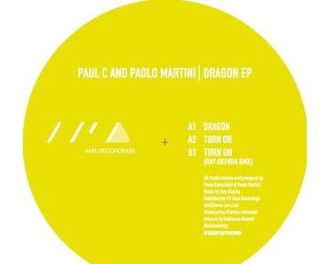 AMA008 - Paul C & Paolo Martini - Dragon EP (incl. Ray Okpara Remix)