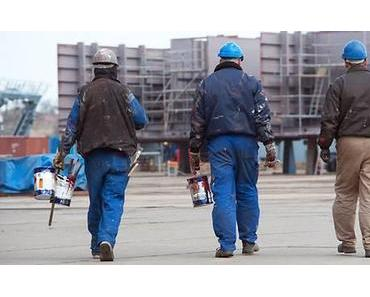 P+S-Werften in Not: Sellering in Brüssel