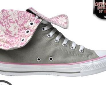 #Converse All Star Chuck Taylor xHi 1W797 Grau / Pink Orchid