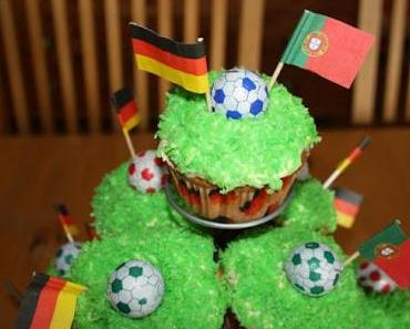 Fußball Cupcakes