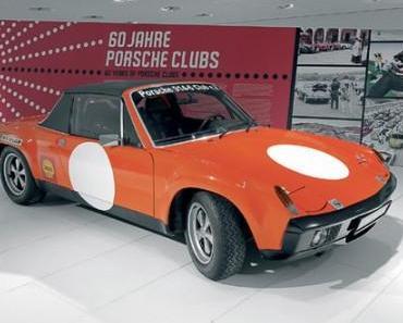 60 Jahre Porsche Clubs im Porsche Museum zu bestaunen