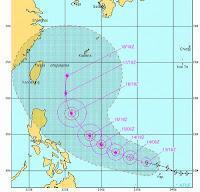 Taifun GUCHOL (BUTCHOY) bedroht eher Japan als China